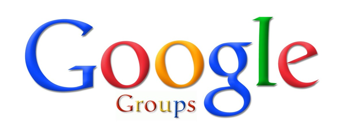 Google Groups Header