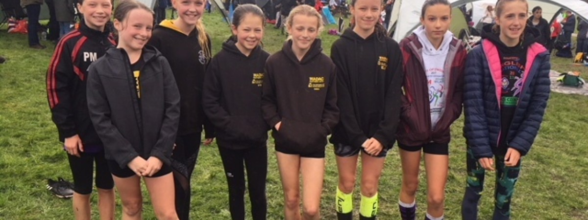 U13 G Hants Xc League Nov 17