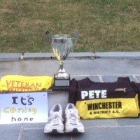 Pete Sansome Rr10 Trophy Coming Home